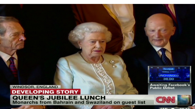 Questionable guests for Jubilee Lunch?