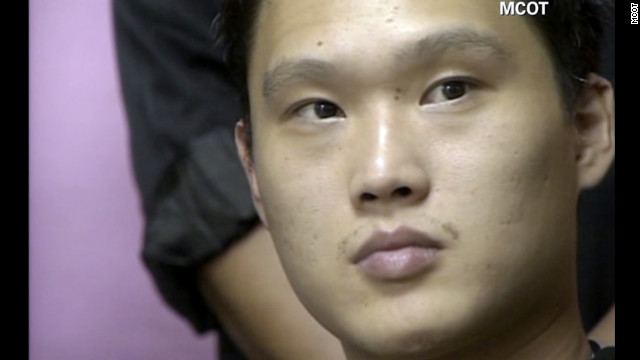 Chow Hok Kuen, a 28-year-old Briton of Taiwanese origin, faces a jail term of up to a year.