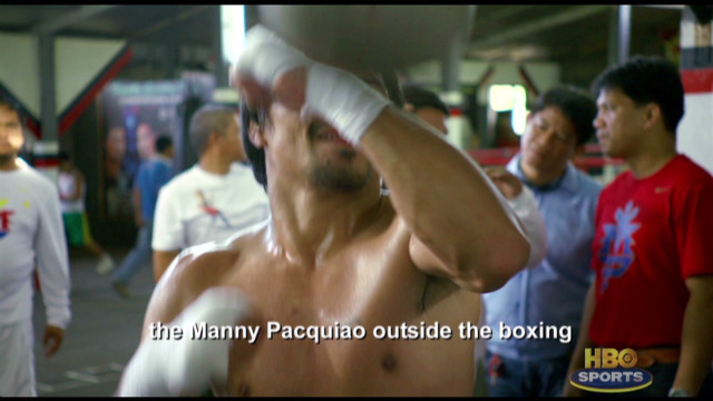 Pacquiao on life outside the ring