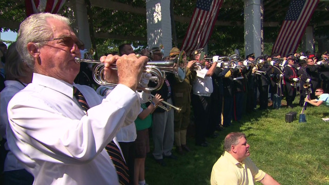 Musicians mark 150th anniversary of taps