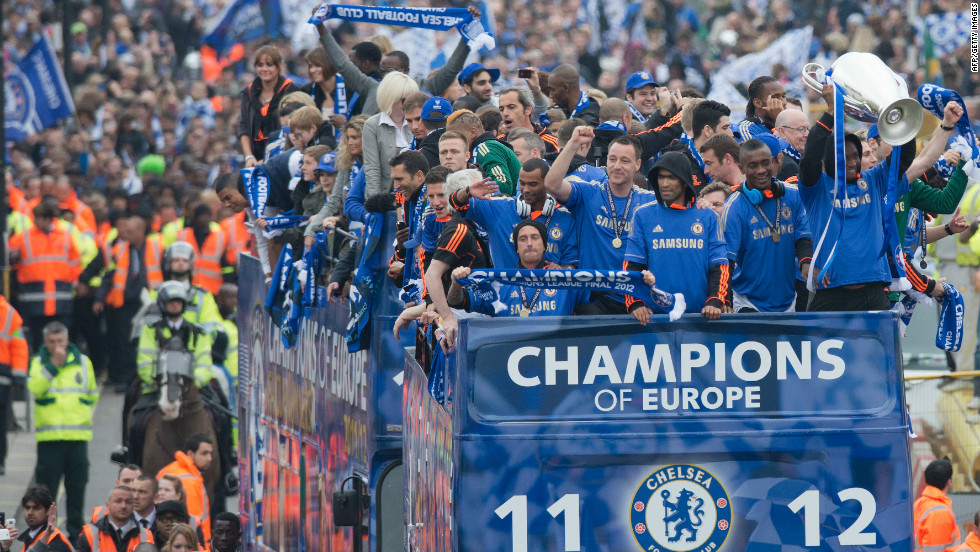 Chelsea beat Bayern Munich on penalties to win the Champions League trophy for the first time in their history