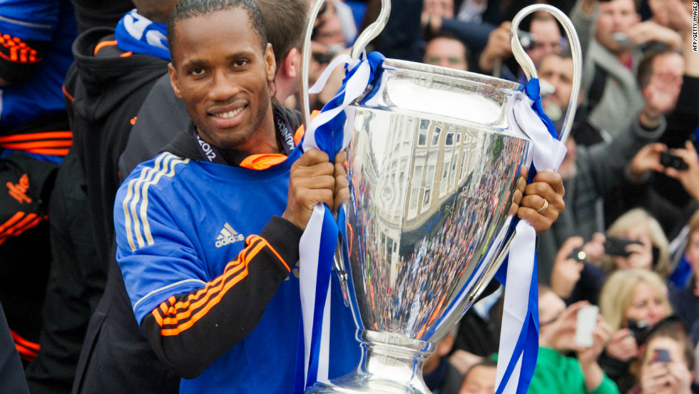 Didier Drogba, who could leave the club in the summer, scored for Chelsea to take the game into extra time and converted the winning penalty