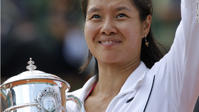 Li became a global star after she won the 2011 French Open title. She was the first player from Asia to do so.