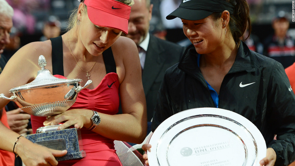 Li's 2011 French Open win made her one of the richest sportswomen in the world.