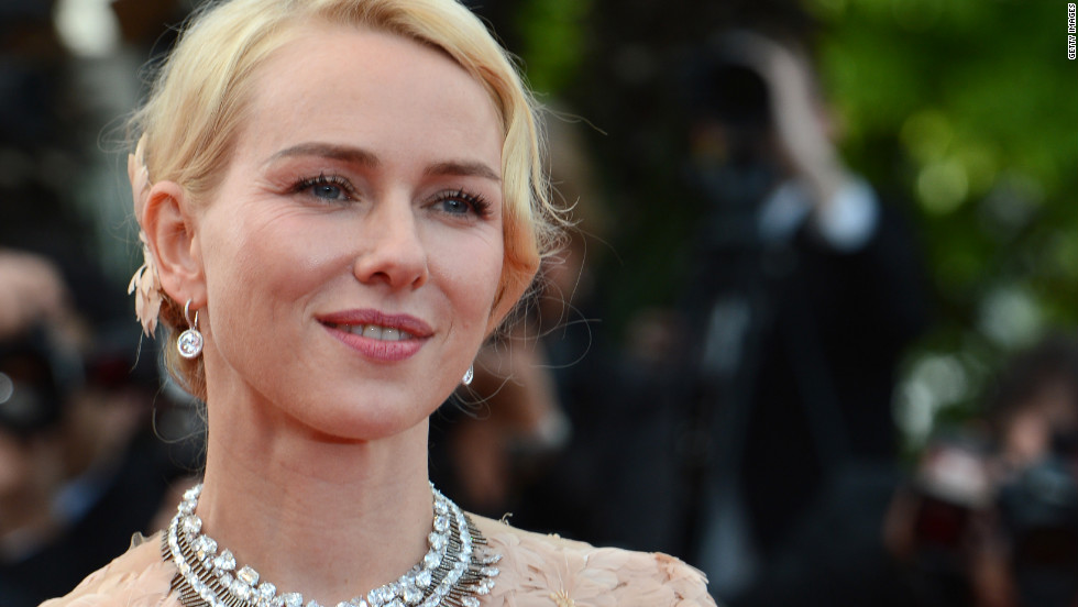 "British actress Naomi Watts hits the red carpet ahead of the ""Madagascar 3"" premiere on Friday."