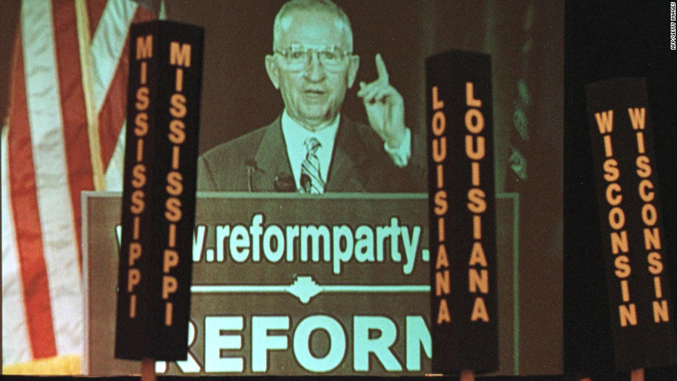 Ross Perot started off as a data processing salesman for IBM in the late 1950s in Texas before founding the Electronic Data Systems Corp., which would eventually make him a billionaire. In 1992, Perot made an independent run for president.