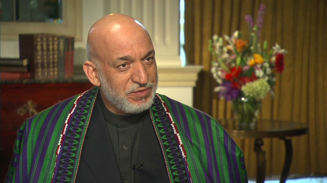 Blitzer's interview with Karzai: Part 3