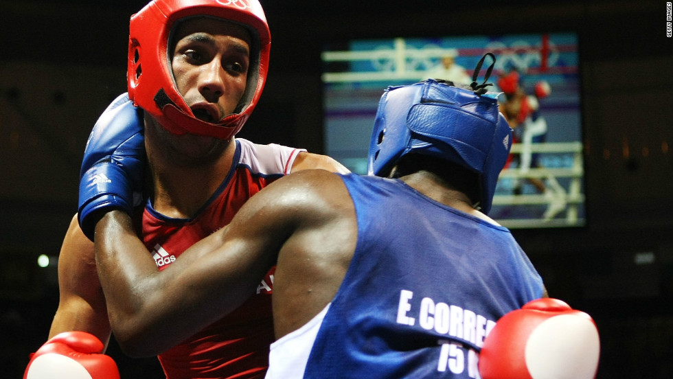 In Beijing four years ago, Cuba failed to clinch an Olympic gold. Emilio Correa (left) had to settle for silver after losing to Britain's James DeGale in the middleweight final.