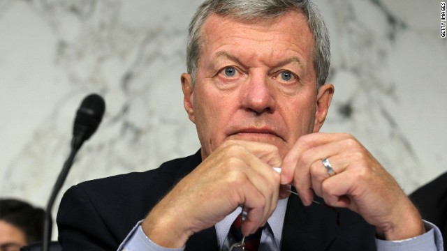 Sen. Max Baucus' committee will examine whether the charity deserves tax-exempt status.