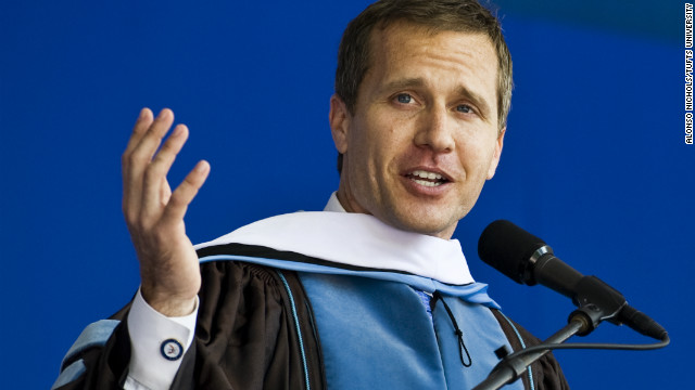 Watch Eric Greitens' commencement speech