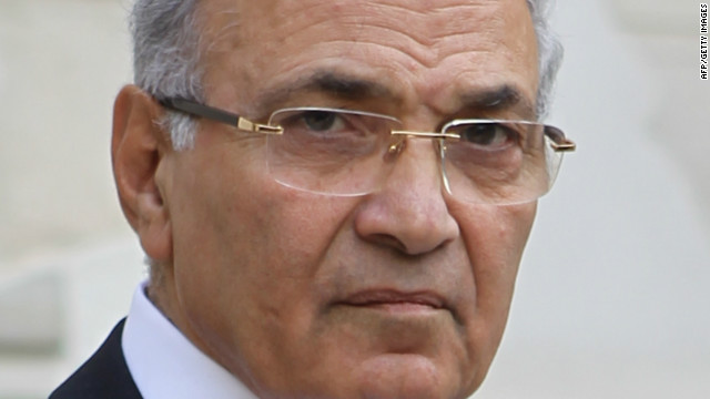 Former Egyptian Prime Minister Ahmed Shafik in Cairo.