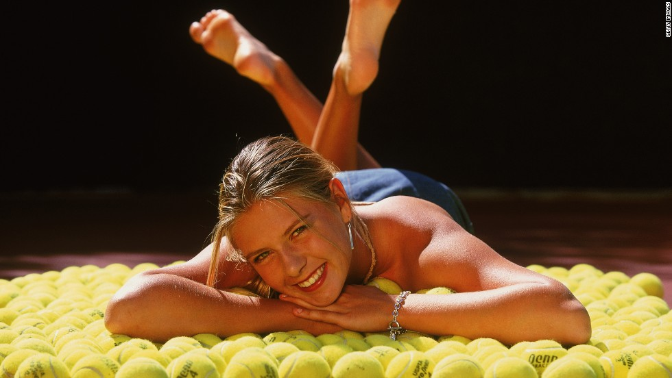 Maria Sharapova has come a long way since turning professional on her 14th birthday in April 2001, having played the game since she was four years old.