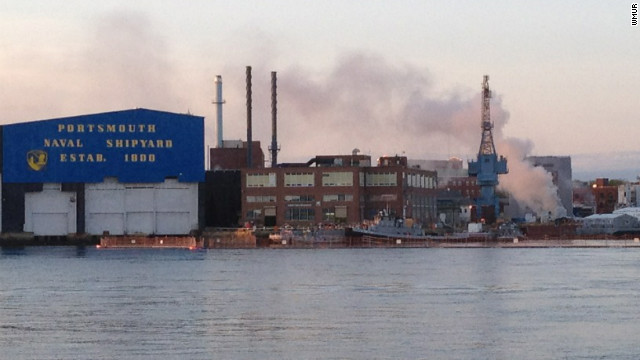 KITTERY, Maine -  A fire has been reported on a nuclear submarine at the Portsmouth Naval Shipyard.  The Portsmouth Fire Department is responding to the fire on the USS Miami SSN 755.  Shipyard public affairs specialist Gary Hildreth says the fire is located in the forward compartment of the ship.  He says emergency personnel are on the scene.  All nonessential personnel have been evacuated from the ship.
