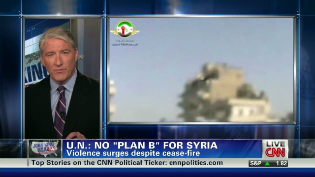 U.N.: No 'Plan B' for Syria