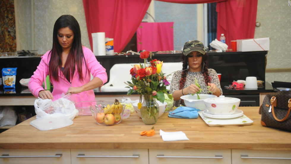 "Because MTV clearly wants viewers to be able to watch the cast of ""Jersey Shore"" every week of the year, there's a summer installment of a spinoff starring JWoww, left, and Snooki in their own abode."