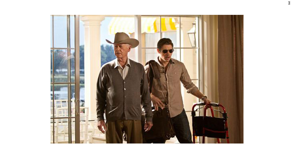 """Dallas"" is back, with a few of the same cast members to prove it.  The saga of J.R. Ewing (Larry Hagman, left) continues with a new generation, including Josh Henderson as John Ross Ewing."