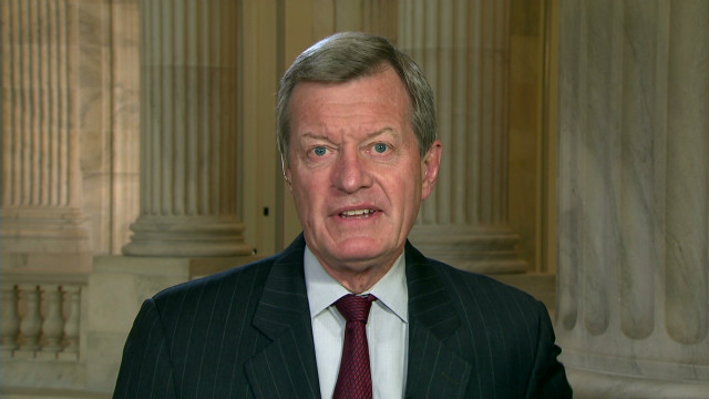 Baucus talks about investigation