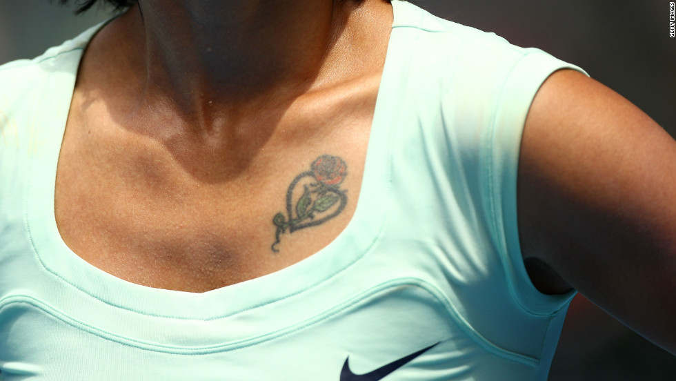 Li, who has a rose tattoo on her chest, became the first Chinese woman to win a WTA tournament in 2004.