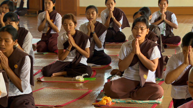 Myanmar embraces spiritual tourists