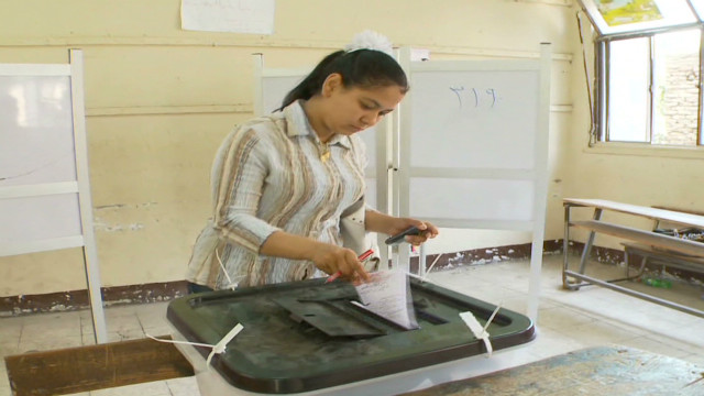 A stake for Christians in Egypt vote
