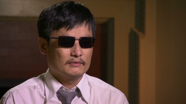Chen Guangcheng: I'm doing fine