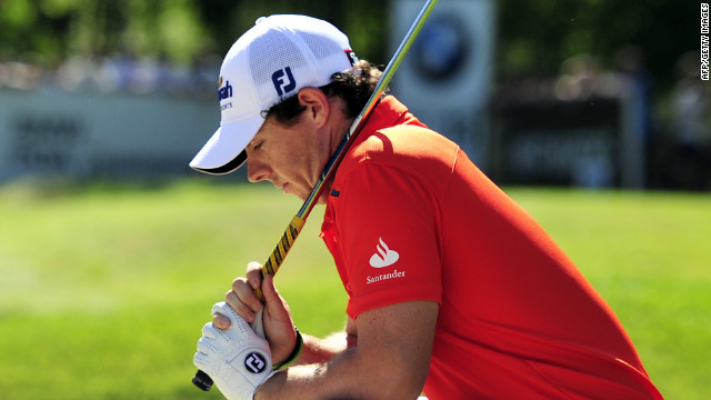 Rory McIlroy had a day to forget as he carded a second round 79 on the West Course at Wentworth.