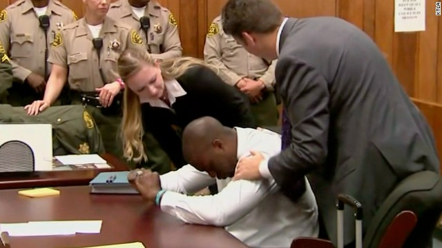 A judge has vacated the rape conviction of once-promising high school football star Brian Banks after his accuser recanted.Banks broke down in tears Thursday morning after a brief hearing in which prosecutors said they had no objection to his conviction being reversed.His mother and girlfriend, who were in the courtroom, let out cries of joy.
