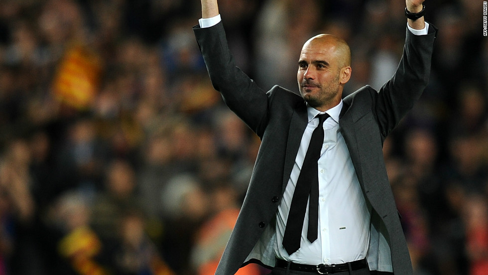 Pep Guardiola waved goodbye to Barcelona on Friday in the only way he knows how -- by winning a trophy. The club's victory in the Spanish Cup final took his haul of trophies to 14 during his four years in charge.