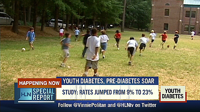 Youth diabetes rates soar, kids suffer