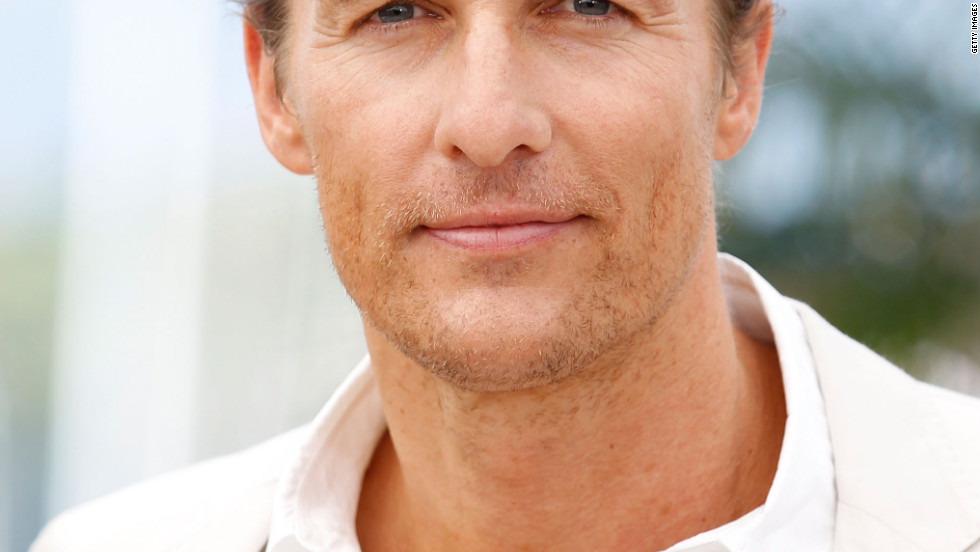 "Matthew McConaughey poses for the ""Mud"" photocall on Saturday in Cannes."