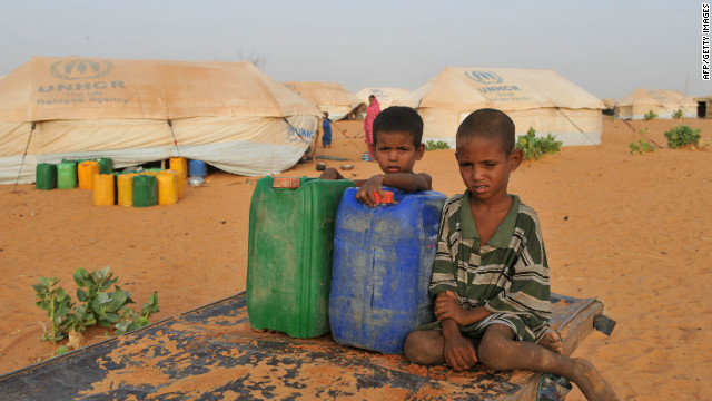 The unrest in Mali has displaced thousands of people.