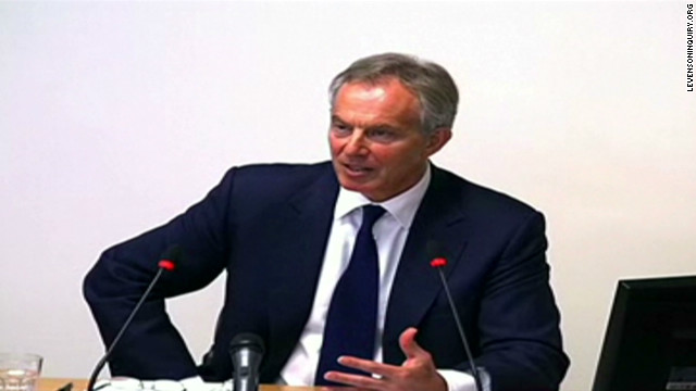 Tony Blair explains Murdoch relationship