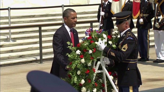 Obama: Today a milestone Memorial Day