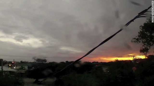 Timelapse of Tropical Storm Beryl