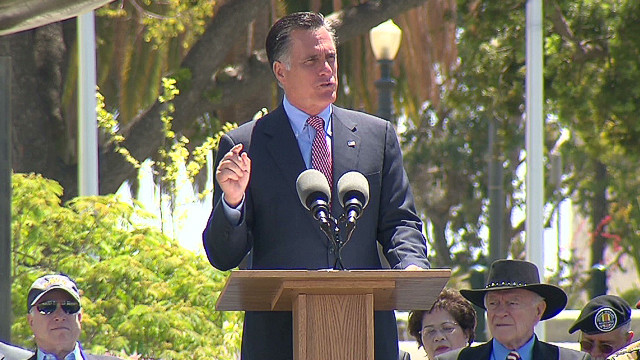 Romney: 'The world is not a safe place'