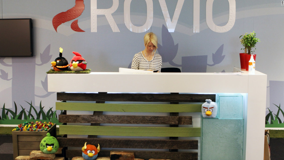 "Rovio created 51 failed games before coming up with ""Angry Birds"" in 2009."