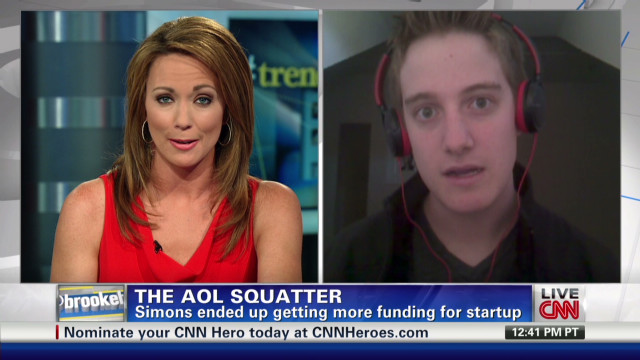 The AOL Squatter