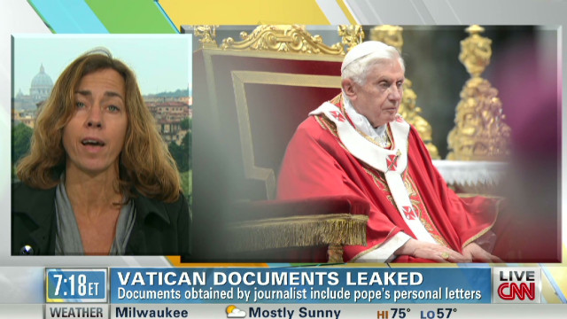 Barbie Nadeau on the papal scandal.