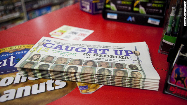 'Caught Up' is a publication that is sold for $1 mainly in gas stations and liquor stores
