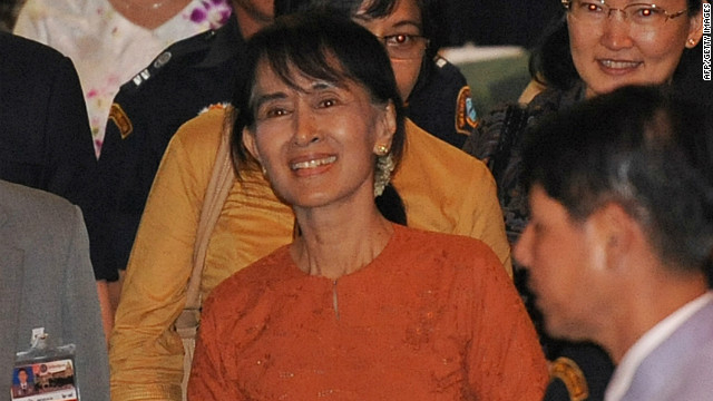 Suu Kyi begins historic overseas trip