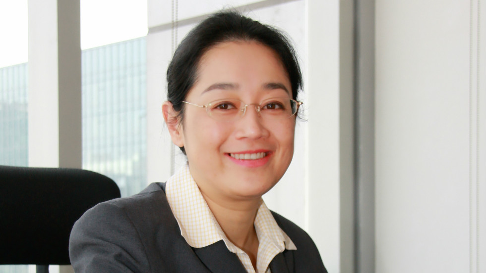 "Li pictured during her first few days at Baidu in 2008, then a young, fast-growing company. ""When I joined the company, we had about 6,000 people, now we have 16,000 people, so the company -- throughout the past four years -- has transformed tremendously."""