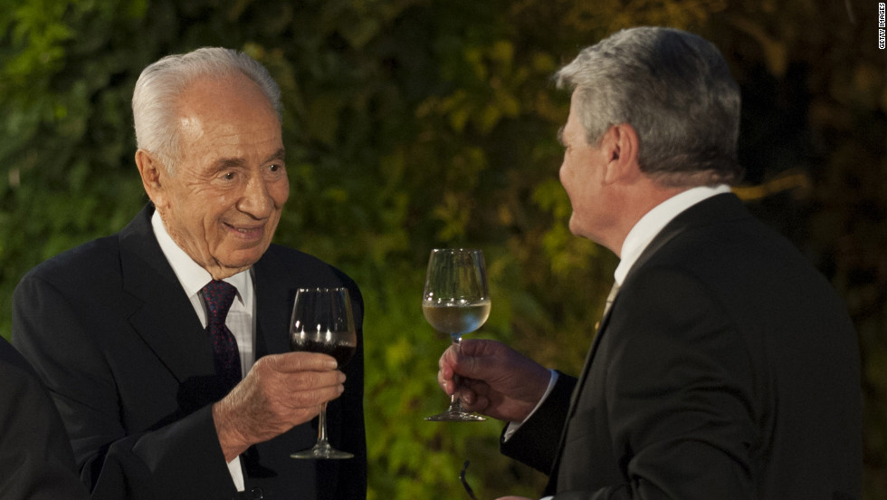 Israel's ninth president, Shimon Peres, advocates ardently for peace and security in Israel. Peres has served Israel in a variety of capacities as foreign minister, minister of defense, minister of transport and communications and as prime minister. He will receive his Presidential Medal of Freedom at a White House dinner later this year.