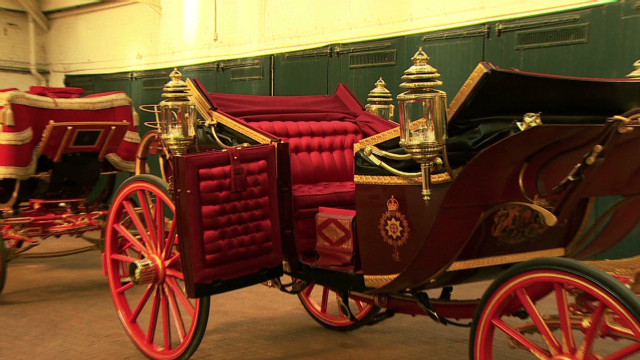 A carriage fit for the Queen