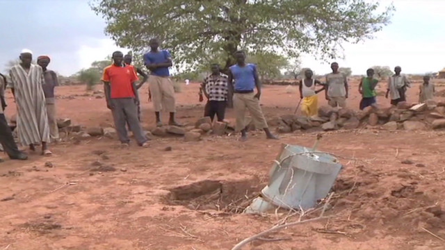 Cluster bombs terrorize African villages