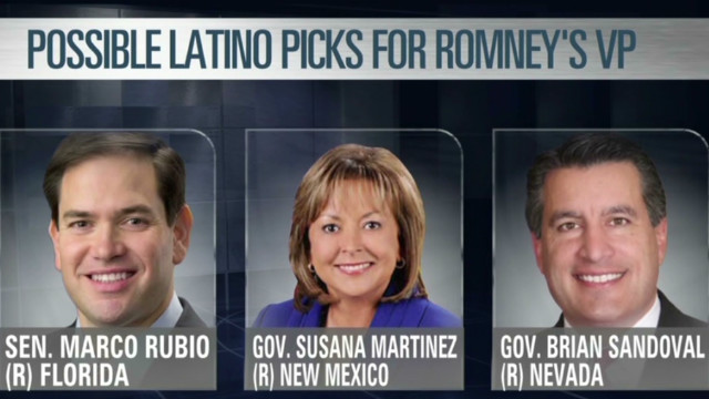 Should Romney pick a Latino for VP?