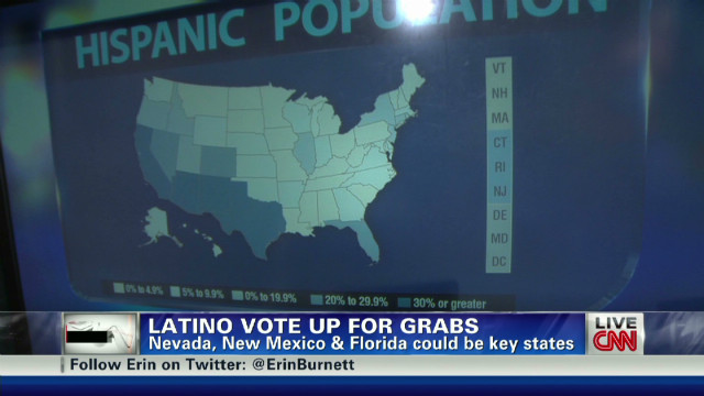 Courting the Latino vote