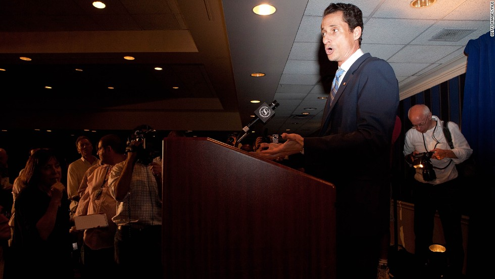 "Then-Rep. <strong>Anthony Weiner</strong>, D-New York, who got caught up in a Twitter photo scandal, told <a href=""http://cnnpressroom.blogs.cnn.com/2011/06/01/rep-weiner-i-dont-know-what-photographs-are-out-there-in-the-world-of-me/"">CNN's Wolf Blitzer</a>: ""I had no idea what happened that night. ... Sometimes a prank is a prank."""