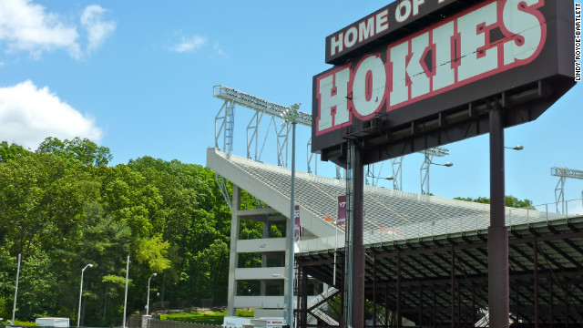 Virginia Tech: Football vs. forest?