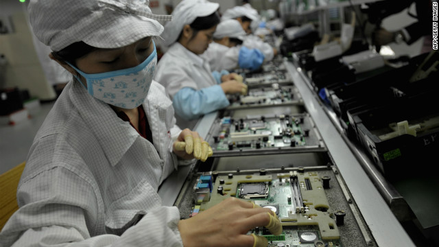 Foxconn says it is committed to ensuring its staff have a safe, satisfactory and healthy working environment.