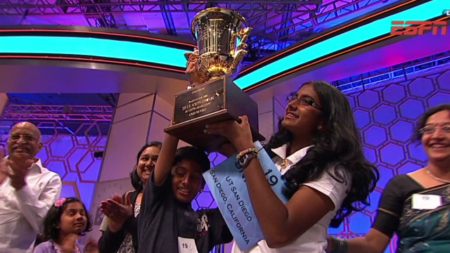 14-year-old takes home spelling crown